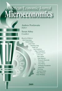 American Economic Journal: Microeconomics